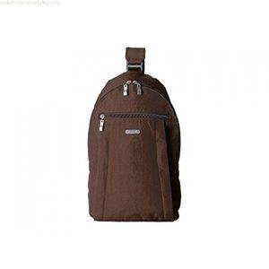 Baggallini Glide Nylon Crossbody Sling Backpack